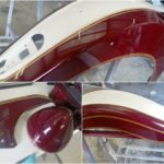 Indian motorcycle paint job Asheville