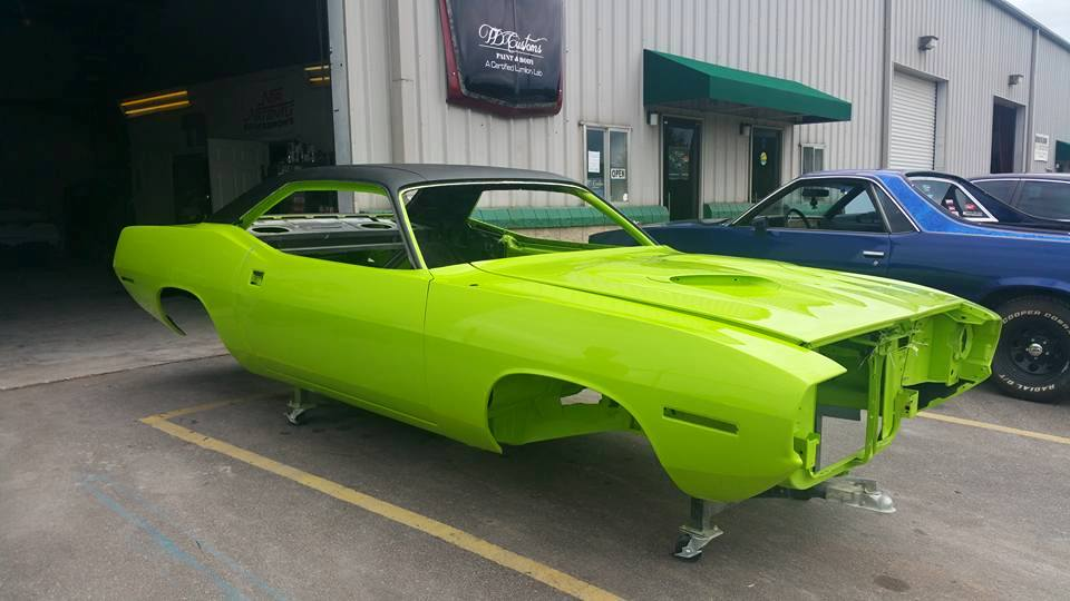 classic car restorations asheville