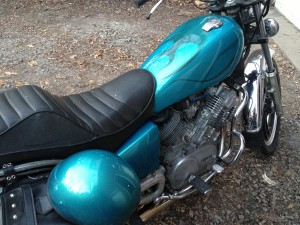 custom motorcycle paint arden ghosted flames