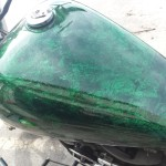 Arden custom motorcycle paint
