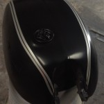 arden custom motorcycle paint stripes