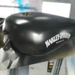harley custom motorcycle paint job hendersonville