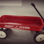 paint job on red wagon