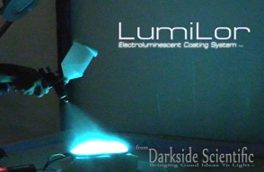 lumilor electroluminescent paint