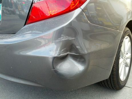 collision repair hendersonville nc fender bender repair