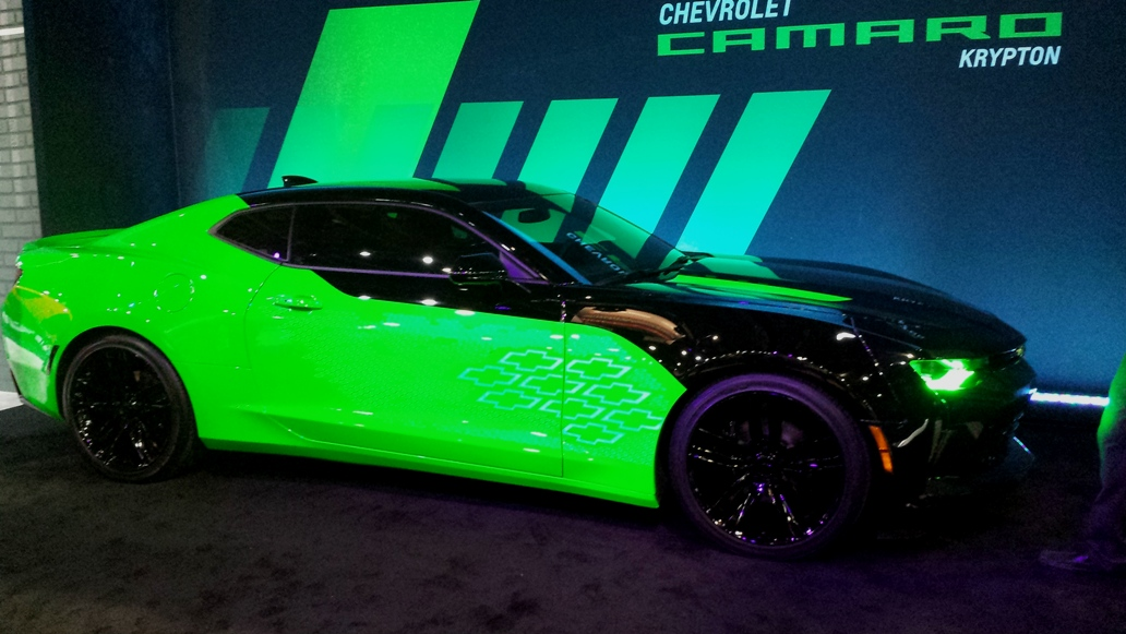 2016 Camaro Krypton Features Electroluminescent Paint
