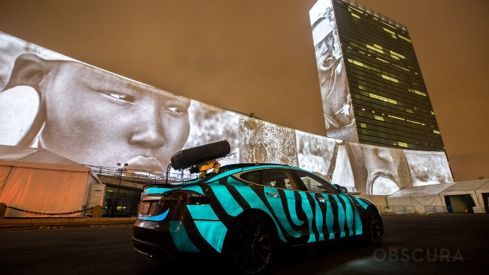 racing extinction car lumilor