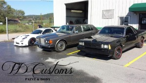 td customs, a reputable auto body shop in mills river nc