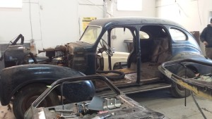 classic restoration disassembly day one