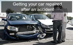 car repaired after accident TD Customs