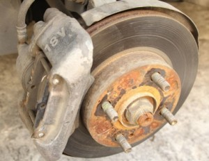 painted brake calipers before paint