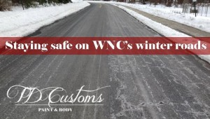 staying safe on wnc winter roads
