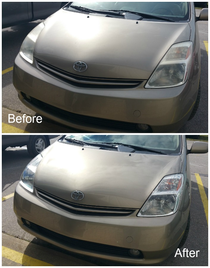 Asheville headlight restoration