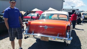 td customs restoration at the mountain motor show