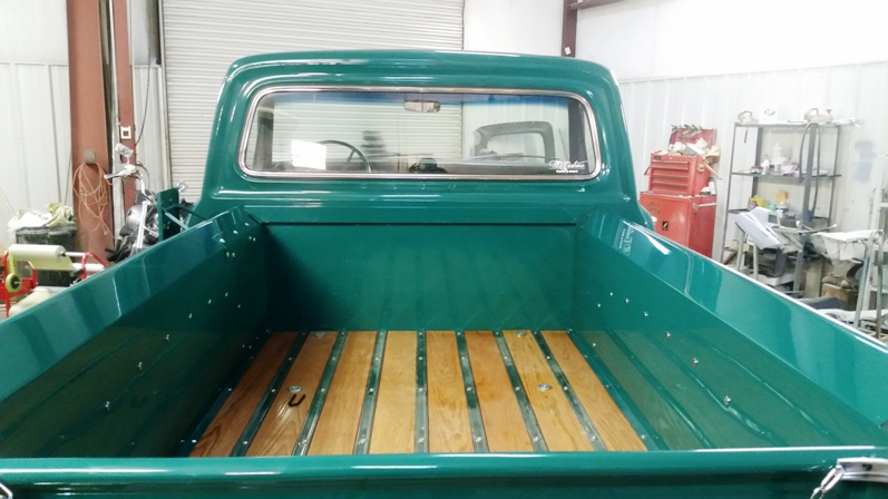 wood truck bed assembly arden nc