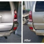 Before & After Collision Repair by TDCustoms Asheville