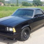 TD Customs El Camino - black