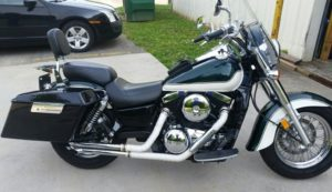 Before pic of motorcycle to be painted