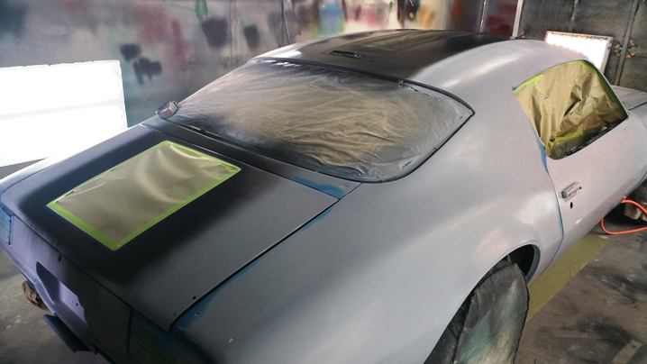 Paint job with 3 paint colors, taping off lines