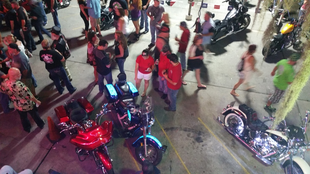 light up paint Lumilor at Myrtle Beach Bike Week | TD Customs