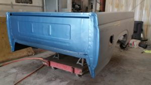 truck bed painted