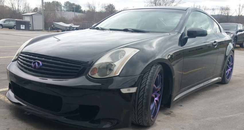 Car mods: New body kit on the G35 | TD Customs