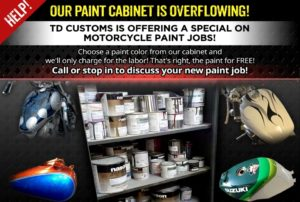 Asheville motorcycle paint cheap affordable