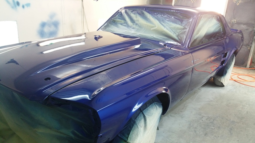 1967 ford mustang bodywork paint td customs body shop