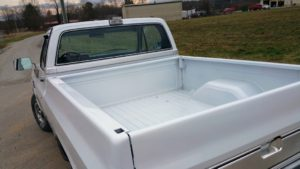 paint truck bed