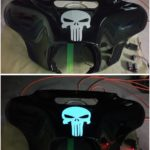 Lumilor by TD Customs Punisher Skull Fairing