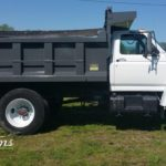 Asheville dump truck paint job TD Customs