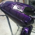 motorcycle paint candy purple