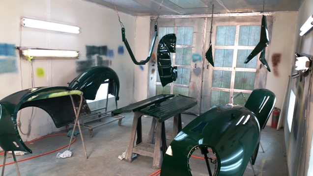 custom paint auto body shop