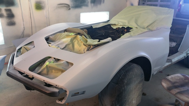 auto body paint shop