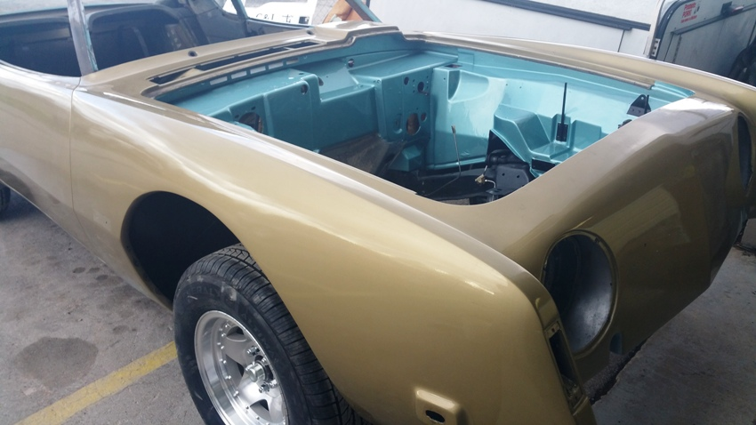 engine bay painted auto body shop Arden NC