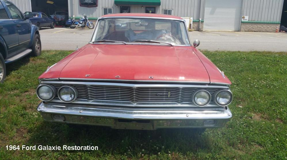 ford galaxie restoration mills river body shop