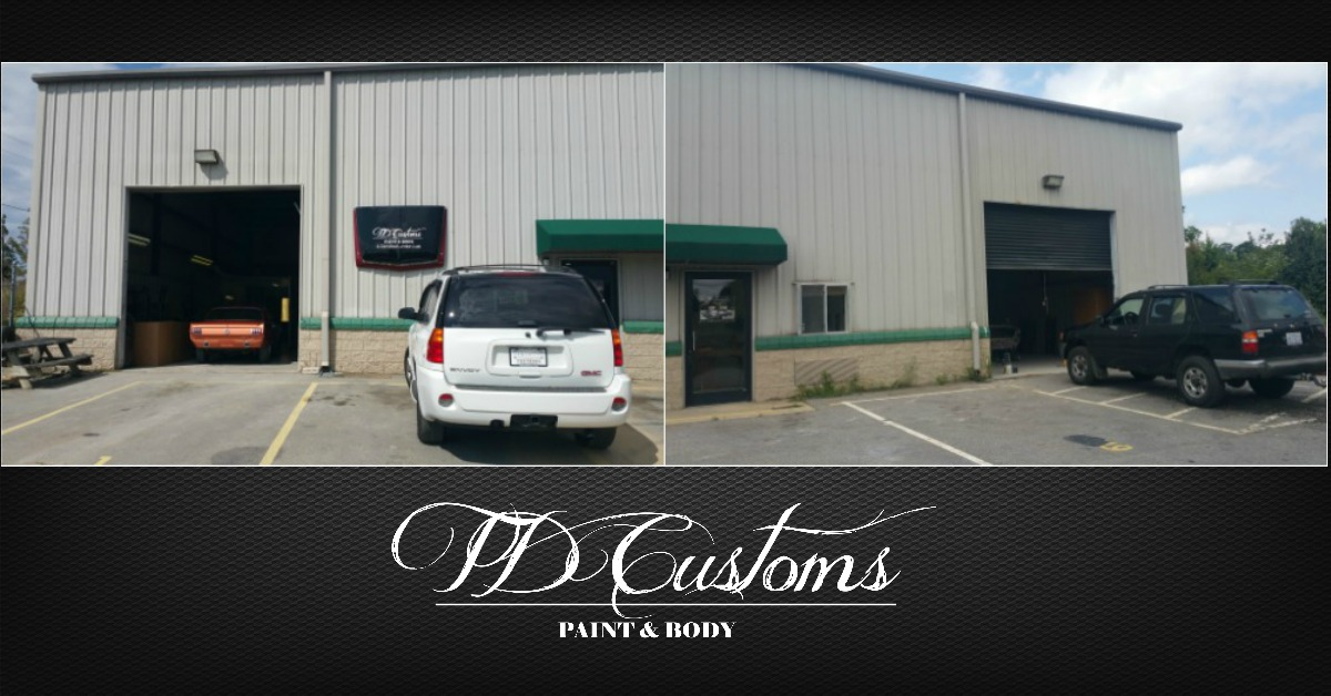 custom auto body shop asheville