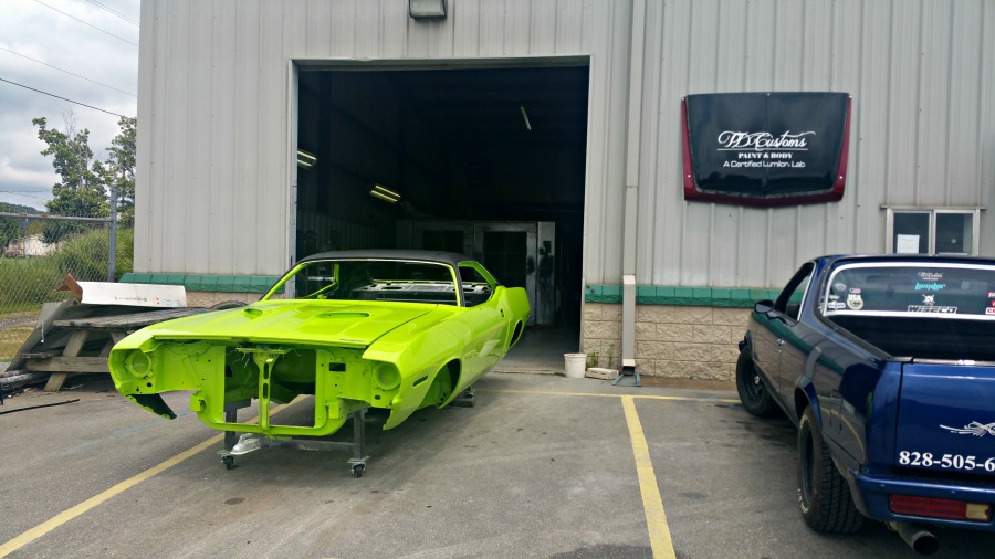 td customs paint body shop asheville