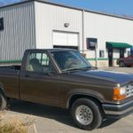 91 Ford Ranger pickup truck full paint job Asheville