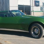 Corvette classic restoration Asheville body shop TD Customs