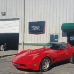 corvette paint job Asheville body shop TD Customs