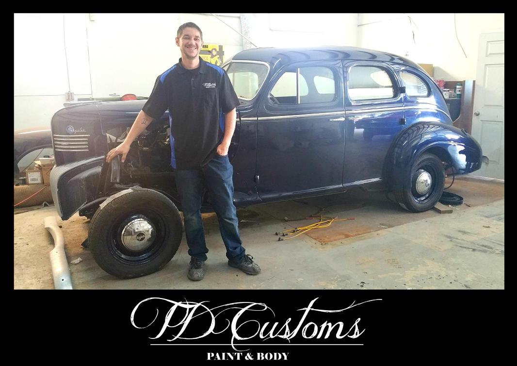 TD Customs paint body shop Tim Donaghue RuthysResto