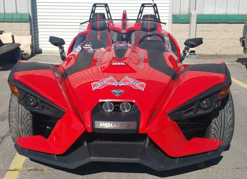 polaris slingshot paint job Asheville body shop