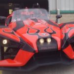 polaris slingshot paint job asheville