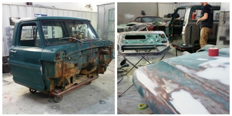 truck restoration auto body shop Arden