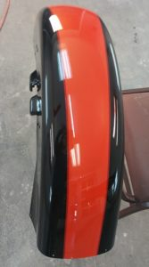 two toned motorcycle paint job