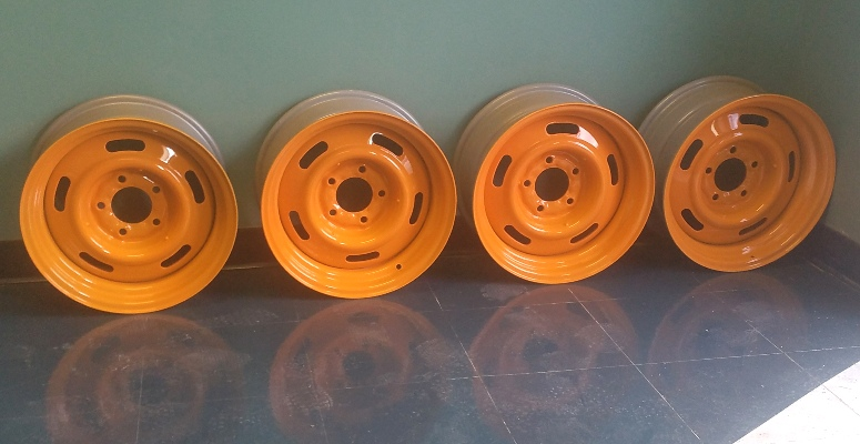 custom painted wheels shop Hendersonville NC