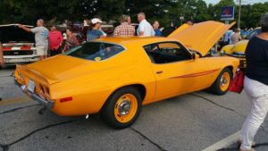 Hendersonville music on main classic car show