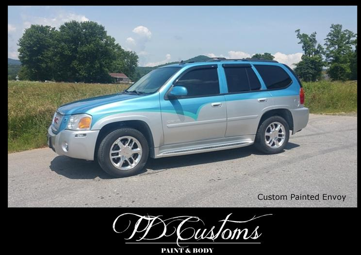 TD Customs 2019 Calendar Custom Paint SUV Envoy
