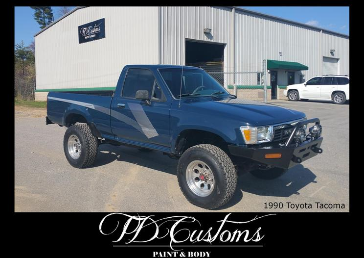 TD Customs 2019 Calendar Custom Paint Classic Restorations Tacoma factory